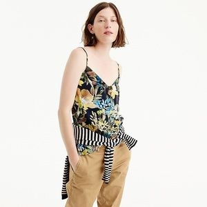 J. Crew Tops - NWT J. Crew V-Neck Camisole in Watercolor Floral